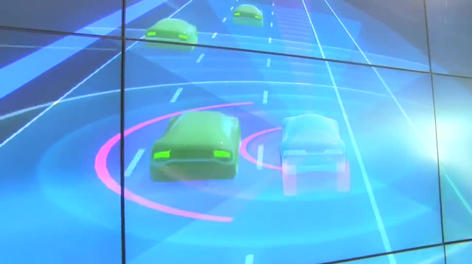 Ces, Karten, CES 2016, Here, Autonomes Auto, HD Live Map