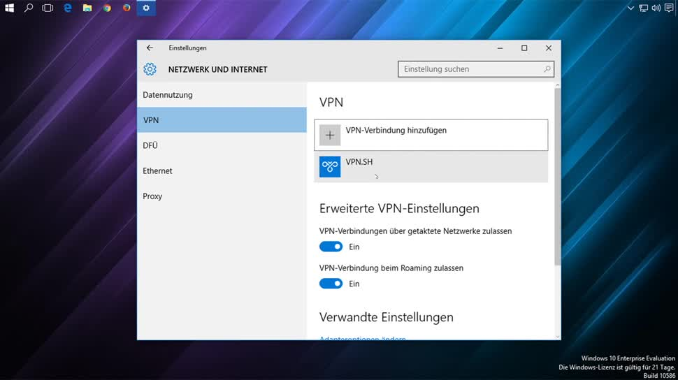 Windows 10, Internet, SemperVideo, Vpn
