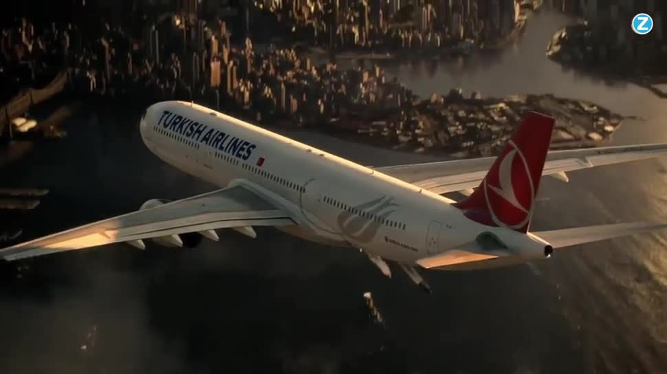 Zoomin, Fluggesellschaft, Dawn of Justice, Batman V Superman, Turkish Airlines