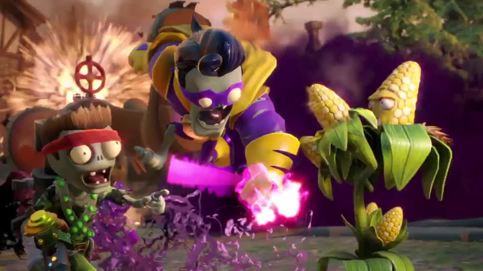 Trailer, Electronic Arts, Ea, Shooter, PopCap, Plants vs Zombies, Garden Warfare, Garden Warfare 2