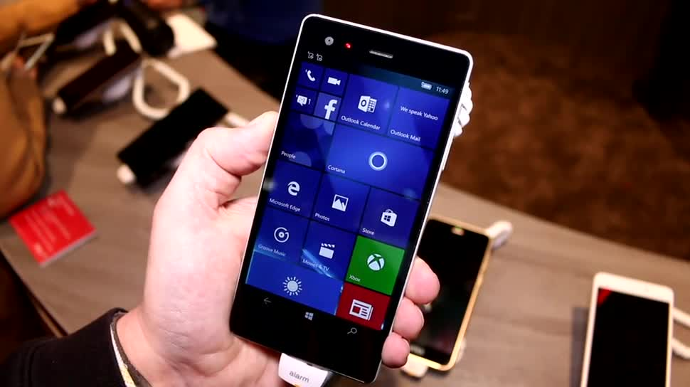 Smartphone, Windows 10 Mobile, Mwc, Mwc 2016, Vaio, Phone Biz