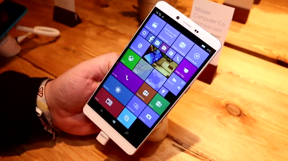 Mwc 2016, Windows 10 Smartphone, Madosma Q601, 6 Zoll Windows 10 Smartphone
