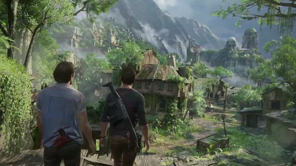 Trailer, Sony, PlayStation 4, PS4, Sony PlayStation 4, Sony PS4, Naughty Dog, Uncharted 4, Uncharted 4 A Thief's End