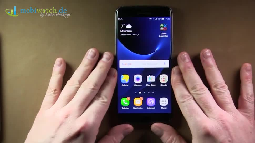 Smartphone, Android, Samsung, Samsung Galaxy, Galaxy, Hands-On, Lutz Herkner, Akkulaufzeit, Samsung Galaxy S7, Galaxy S7, Samsung Galaxy S7 Edge, Galaxy S7 Edge, S7, Always On, Game Launcher