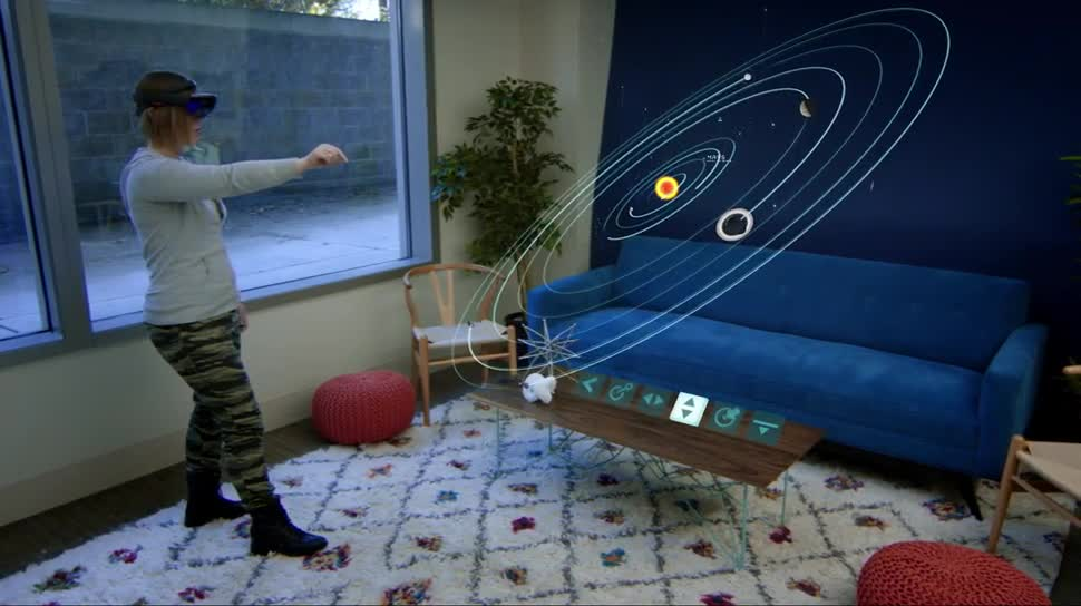 hololens microsoft ver ffentlicht das galaxy explorer projekt. Black Bedroom Furniture Sets. Home Design Ideas