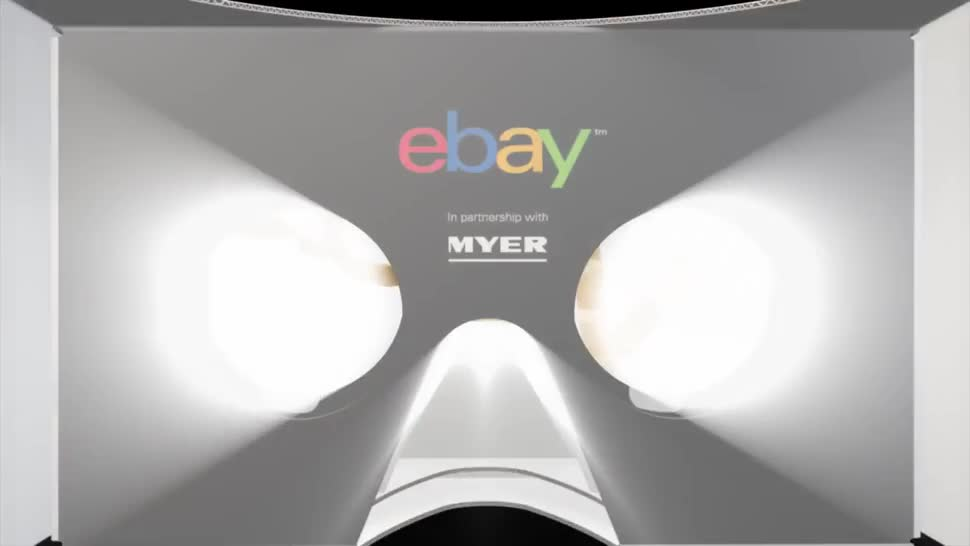 Virtual Reality, VR, Ebay, E-Commerce, shopping, Australien, Einkaufen, Myer