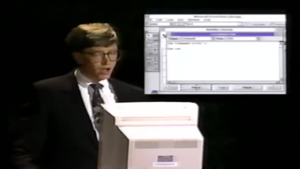 Microsoft, Bill Gates, Keynote, Programmierung, Geschichte, Visual Basic
