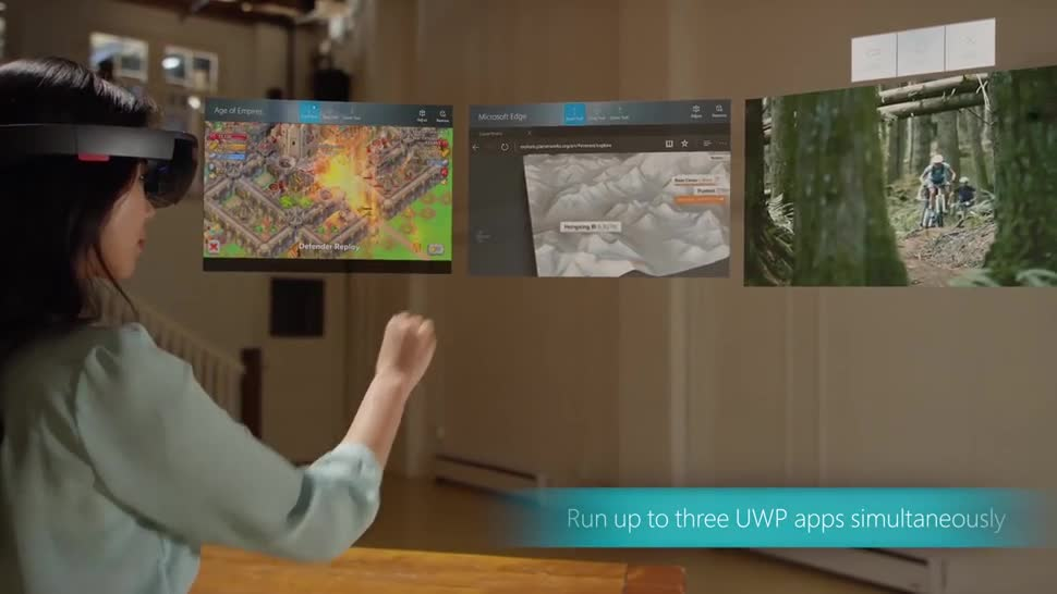 Microsoft, Augmented Reality, Augmented-Reality, HoloLens, Microsoft HoloLens, AR-Brille