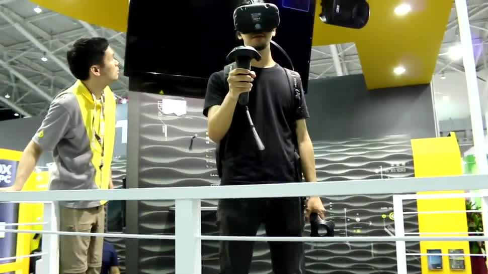 Htc, Virtual Reality, VR, Headset, Computex, VR-Brille, Computex 2016, HTC Vive, VR-Headset, Vive, Zotac