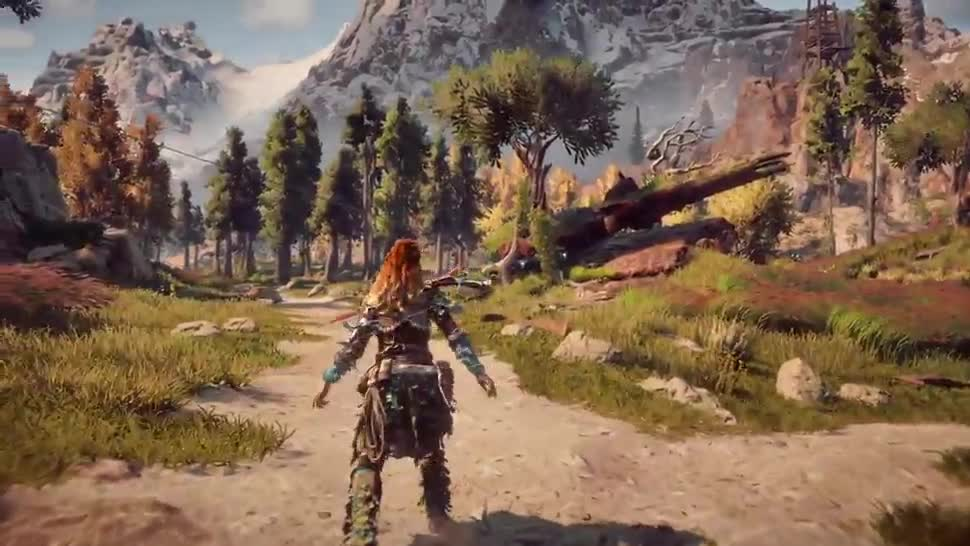 Sony, PlayStation 4, Gameplay, Playstation, E3, PS4, Sony PlayStation 4, Sony PS4, E3 2016, Horizon Zero Dawn, Guerrilla Games