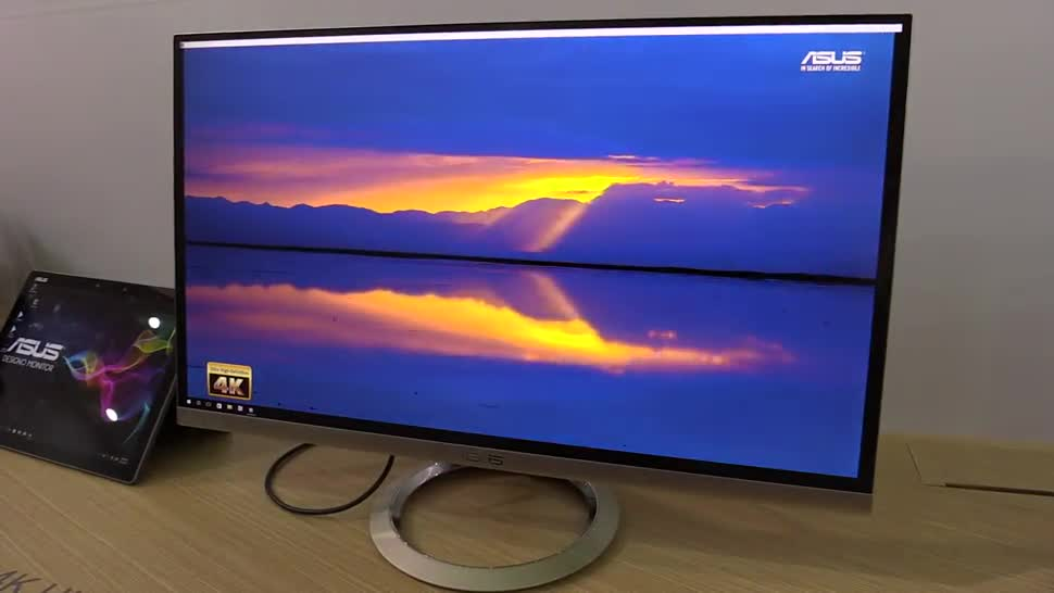 Asus, Hands-On, Hands on, 4K, Computex, Monitor, NewGadgets, USB Type-C, Computex 2016, 4K-Display, USB Type C, 4K Display, USB Typ-C, 4K Monitor, Asus Designo, Asus Designo MX27UC, Designo MX27UC, MX27UC