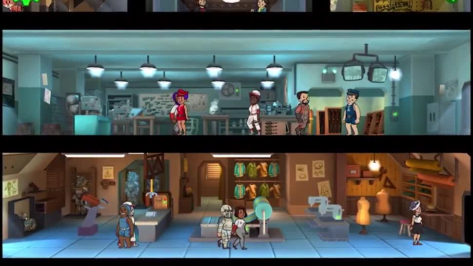 Trailer, Bethesda, Strategiespiel, Fallout, Fallout Shelter, free2play