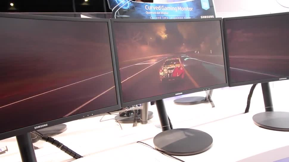 Samsung, Gamescom, Monitor, NewGadgets, Johannes Knapp, curved, Gamescom 2016, Curved Display, Freesync, C24FG70, Samsung C24FG70