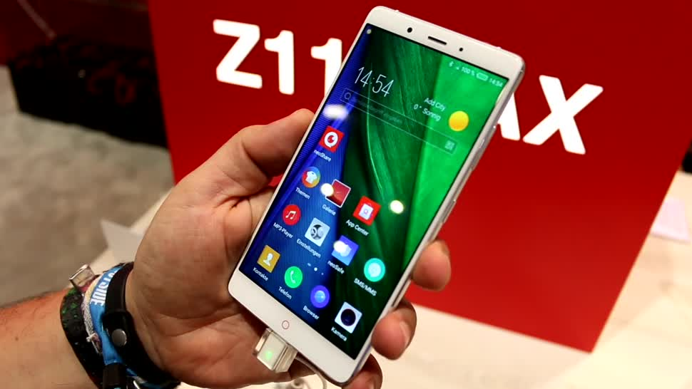 Smartphone, Android, Hands-On, Ifa, Phablet, Zte, IFA 2016, Nubia, Nubia Z11 Max
