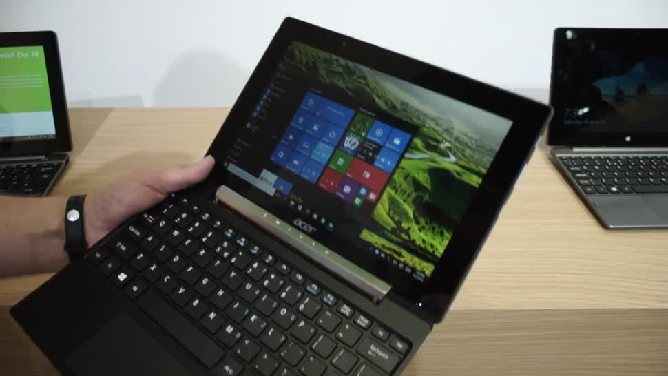 Tablet, Windows 10, Ifa, Acer, 2-in-1, Convertible, Andrzej Tokarski, Tabletblog, IFA 2016, 2-in-1-Tablet, Acer Switch V 10, Switch V 10
