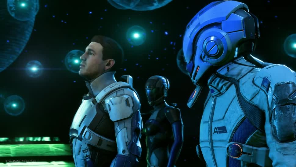 Trailer, Electronic Arts, Ea, BioWare, PS4 Pro, PlayStation 4 Pro, Mass Effect Andromeda