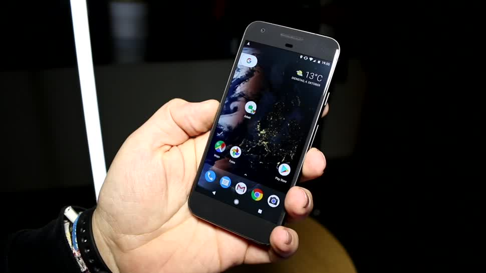 Smartphone, Google, Android, Quadcore, Lte, Hands-On, Test, Launch, Hands on, Review, Pixel, Nougat, Google Nexus, Google Pixel, Android 7.1, Qualcomm Snapdragon 821