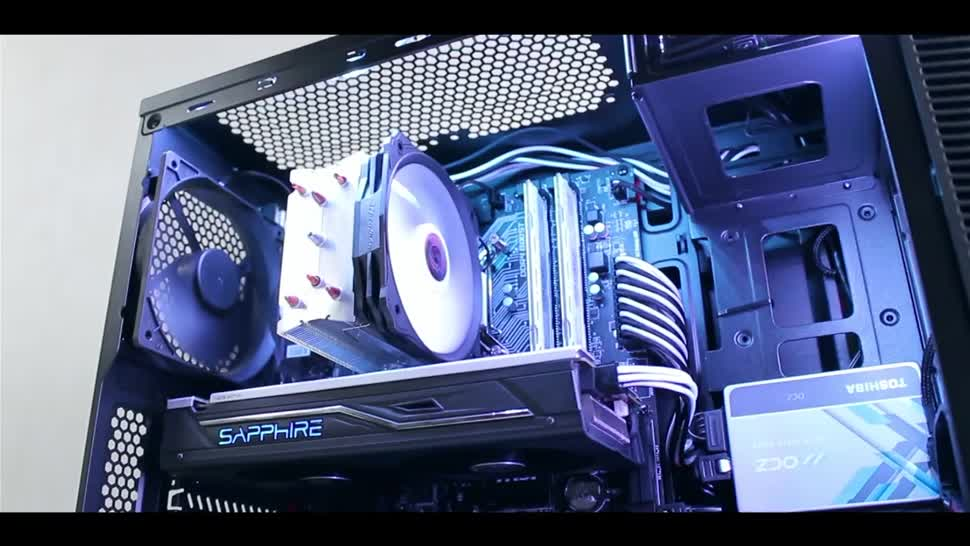 Gaming, Spiele, Pc, Intel, Hardware, Seagate, Intel Core i5, Zenchilli, Zenchillis Hardware Reviews, gaming-pc, Crucial, Sapphire, AMD Radeon RX 470, Corsair, i5 6500, Pure Power 9, EKL