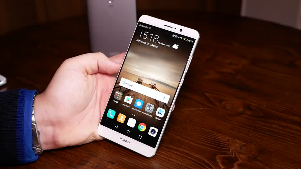 Smartphone, Android, Huawei, Hands-On, Phablet, Android 7.0, Daniil Matzkuhn, tblt, Huawei Mate 9, Mate 9