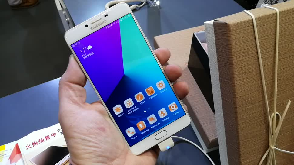 Smartphone, Android, Samsung, Samsung Galaxy, Galaxy, Qualcomm, Phablet, Samsung Mobile, Qualcomm Snapdragon, Galaxy C9 Pro