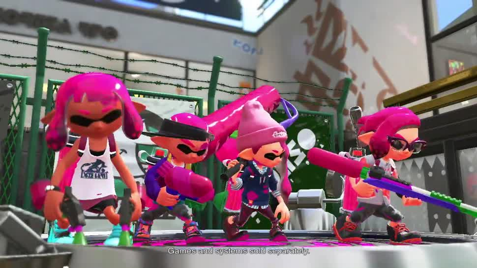 Nintendo, Shooter, Nintendo Switch, Splatoon, Splatoon 2