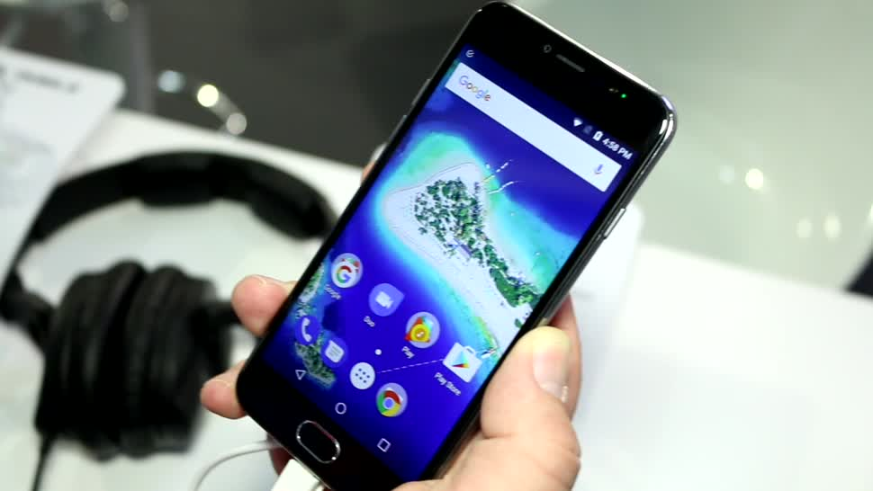 Smartphone, Betriebssystem, Google, Android, Smartphones, Hands-On, Mwc, Hands on, Mobile World Congress, MWC 2017, Mobile World Congress 2017, Barcelona, Android One, MWC2017, General Mobile, GM6, General Mobile GM6, Smartphone Hands-On, General Mobile Smartphone