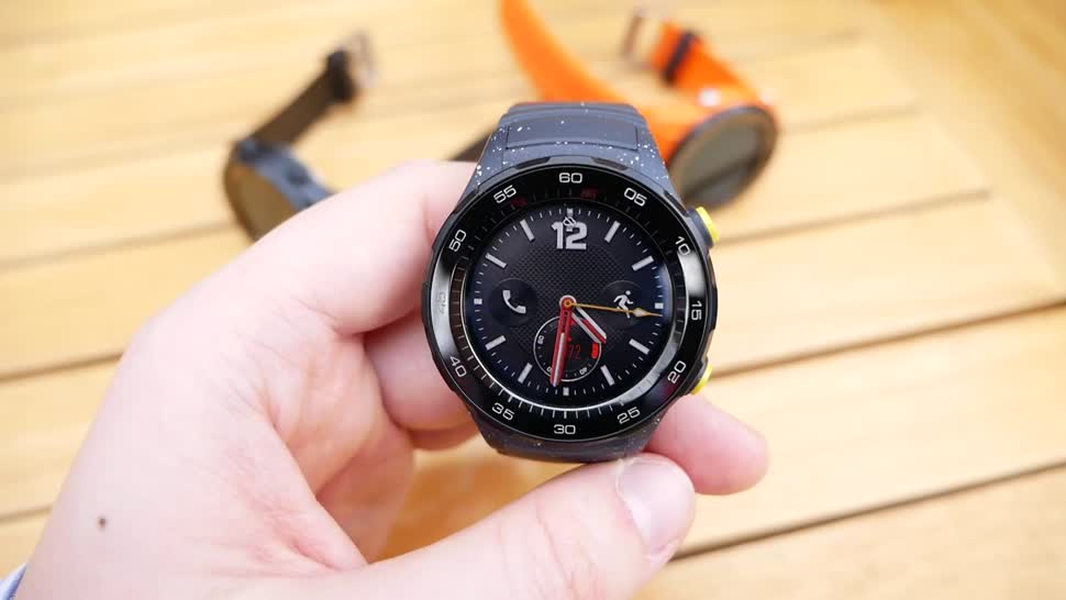 Android, smartwatch, Huawei, Hands-On, Mwc, Uhr, Hands on, Wearables, Armbanduhr, Android Wear, MWC 2017, Daniil Matzkuhn, tblt, Huawei Watch, Huawei Watch 2