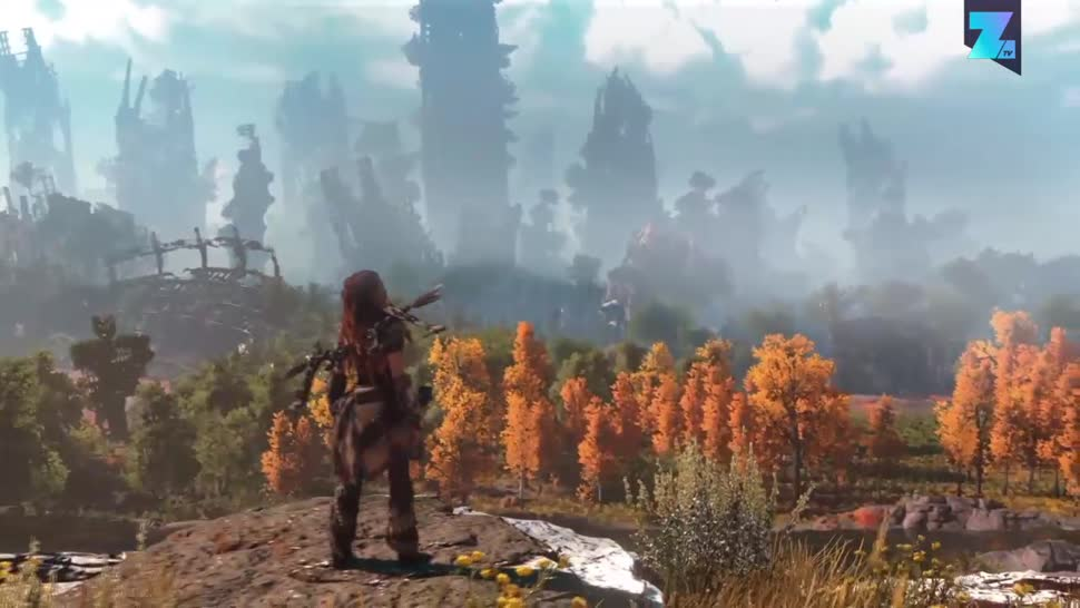 Sony, PlayStation 4, Playstation, PS4, Sony PlayStation 4, Zoomin, Sony PS4, Horizon Zero Dawn