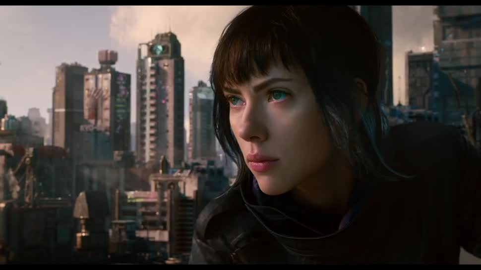 Trailer, Kino, Kinofilm, Paramount Pictures, Ghost in the Shell