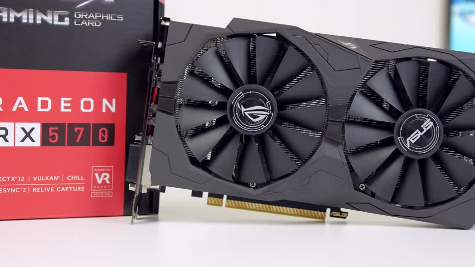 Asus, Test, Amd, Grafikkarte, Zenchilli, Zenchillis Hardware Reviews, Polaris, ASUS Strix, RX 570, ASUS Strix RX 570 OC, RX 570 OC