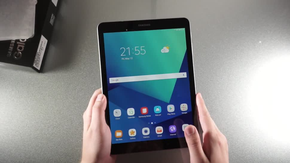 Android, Tablet, Andrzej Tokarski, Tabletblog, Unboxing, Eingabestift, S-Pen, Samsung Galaxy Tab S3, Galaxy Tab S3, Samsung Galaxy Tab S3 9.7