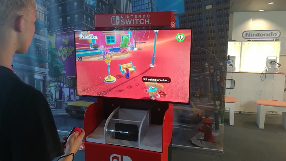Gaming, Konsole, Spiele, Video, Spiel, Nintendo, E3, Hands-On, Games, Nintendo Konsole, Nintendo Switch, Switch, Event, Super Mario, Mario, 2017, Frankfurt, Super Mario Odyssey, Angespielt, ausprobiert, Sonic Forces, Fire Emblem Warriors, Nintendo Post E3, Post E3