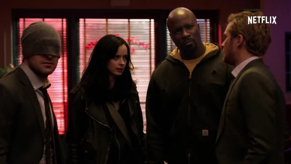 Trailer, Netflix, Serie, Marvel, Netflix Deutschland, Comic-Con, San Diego ComicCon, Superheld, SDCC, Daredevil, Jessica Jones, SDCC 2017, Iron Fist, Luke Cage, Marvel's Jessica Jones, Defenders, Marvel's The Defenders