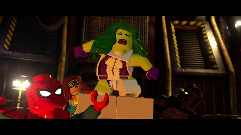 Trailer Warner Bros Marvel Lego Comic Con San Diego
