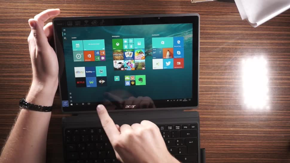 Tablet, Windows 10, Acer, Andrzej Tokarski, Tabletblog, Unboxing, Apollo Lake, Acer Switch, Acer Switch 3