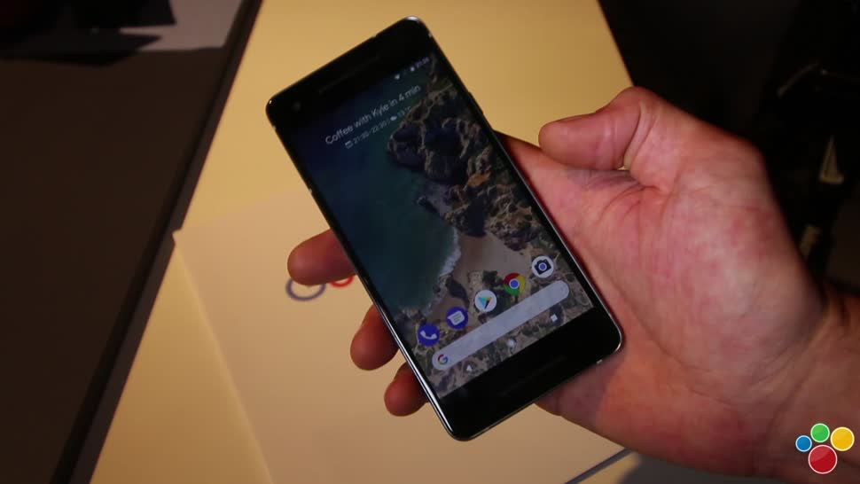 Smartphone, Google, Android, Test, Hands-On, Hardware, Hands on, Review, Google Pixel 2, Pixel 2, Google Event, Handson