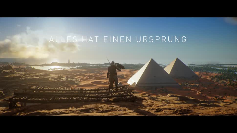 Trailer, Ubisoft, actionspiel, Assassin's Creed, Assassin's Creed Origins