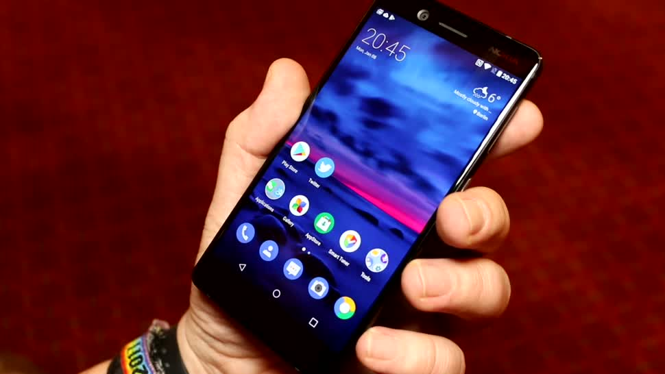 Smartphone, Android, Nokia, Hands-On, Ces, Hands on, HMD global, CES 2018, Nokia 7