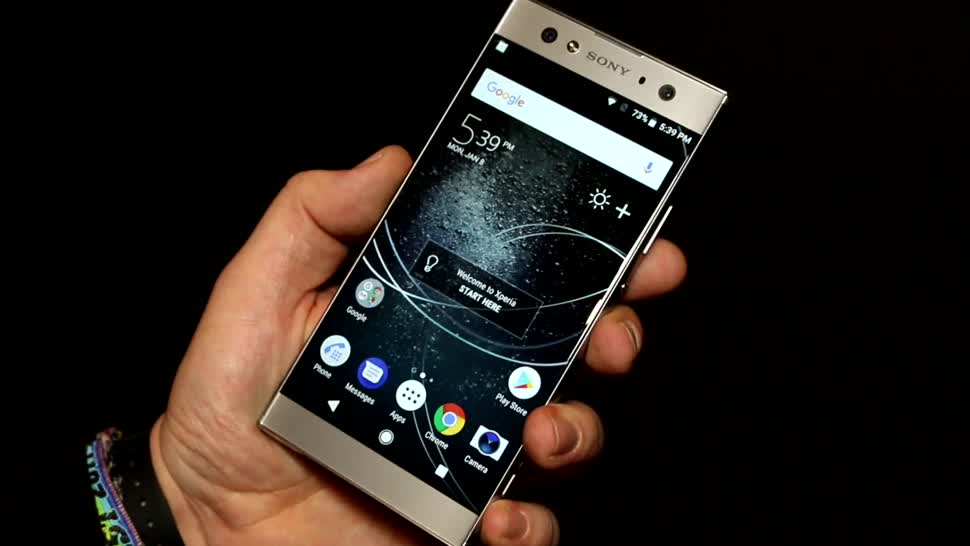 Smartphone, Android, Sony, Hands-On, Ces, Hands on, CES 2018, Sony Xperia XA2 Ultra