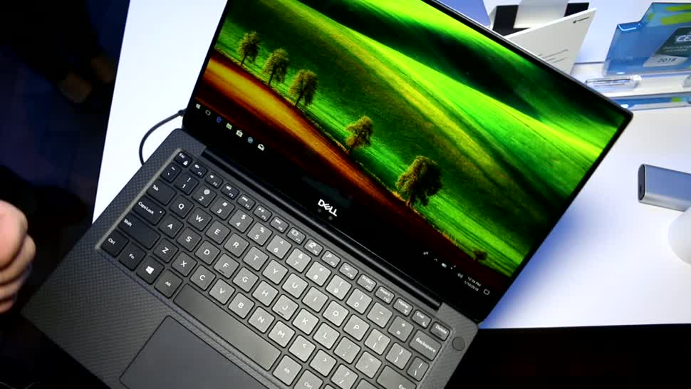 Notebook, Ces, Dell, CES 2018, XPS 13