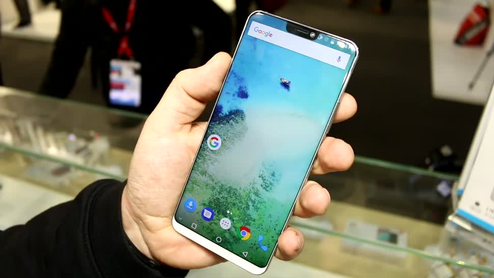 Smartphone, Android, Test, Hands-On, Mwc, Hands on, Mobile World Congress, Phablet, MWC 2018, Randlos, randloses Display, XXL, Ulefone, Ulefone T2 Pro