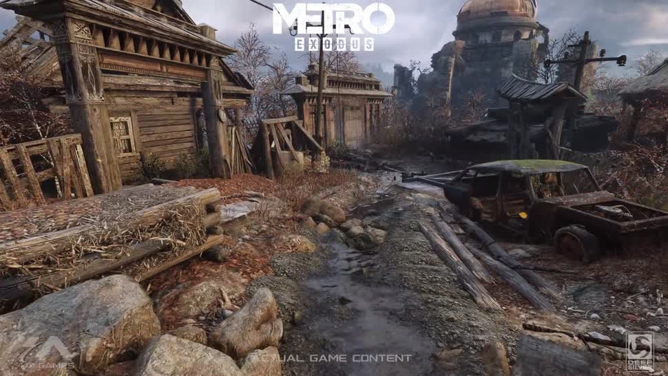 Trailer, Ego-Shooter, Nvidia, Metro, GDC, Game Developers Conference, GDC 2018, Metro Exodus, Nvidia RTX, RTX, GeForce RTX