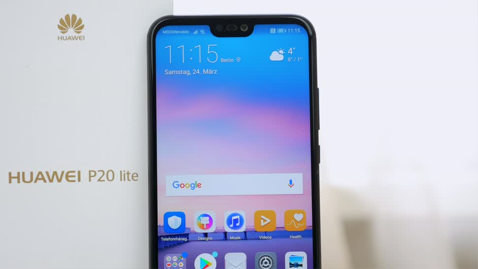 huawei p20 lite neues smartphone mit 19 9 display im hands on. Black Bedroom Furniture Sets. Home Design Ideas