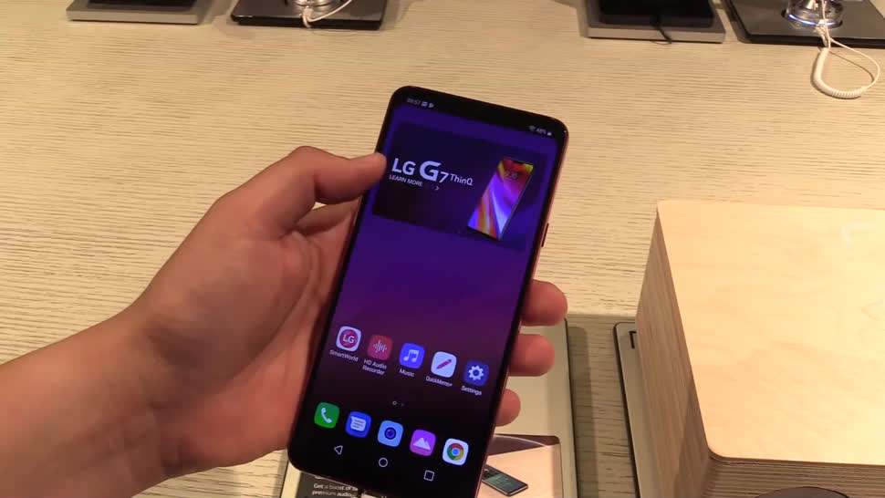 Smartphone, Android, LG, Hands-On, NewGadgets, Android Oreo, LG G7, LG G7 ThinQ, ThinQ, G7 ThinQ