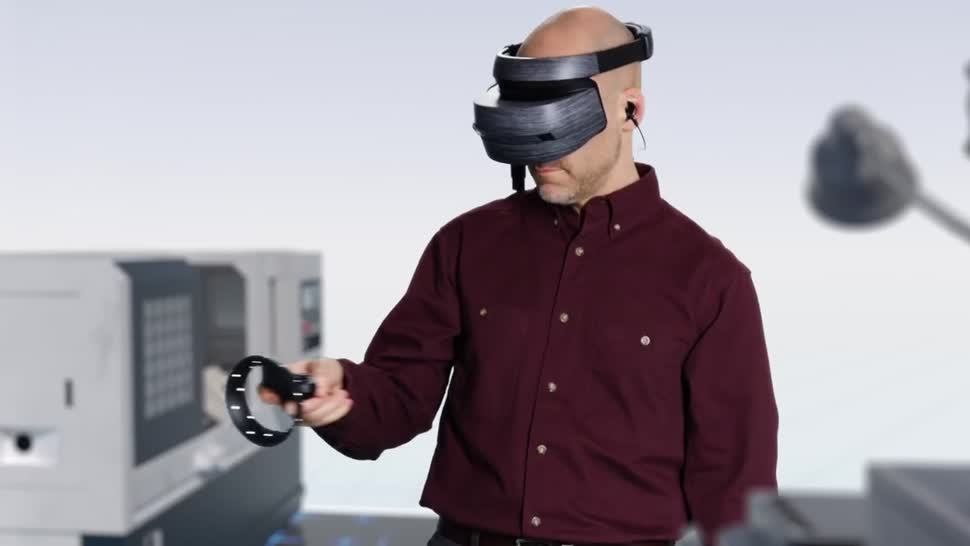 Microsoft, Virtual Reality, VR, Build, Augmented Reality, Headset, Augmented-Reality, HoloLens, Datenbrille, VR-Brille, Microsoft HoloLens, Windows Holographic, Windows 10 Holographic, Hologramm, AR-Brille, Windows Mixed Reality, Build 2018, AR-Headset, Microsoft Layout