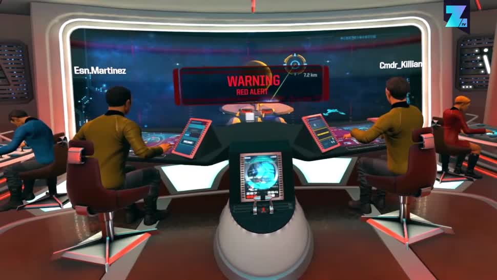 Ubisoft, Zoomin, Virtual Reality, VR, Dlc, VR-Brille, Star Trek, VR-Headset, Bridge Crew, Bridge Crew VR, The Next Generation