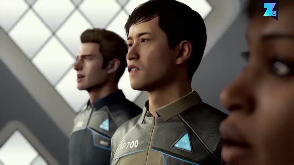 Sony, PlayStation 4, Playstation, PS4, Sony PlayStation 4, Zoomin, Sony PS4, Quantic Dream, Detroit: Become Human