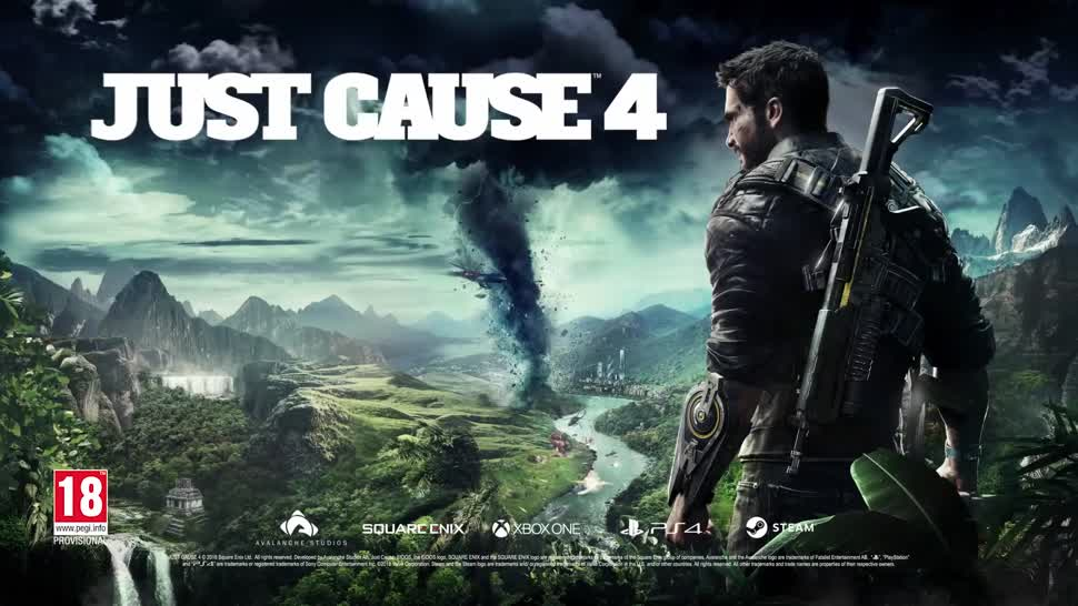 Trailer, E3, actionspiel, E3 2018, Avalanche Studios, Just Cause, Just Cause 4