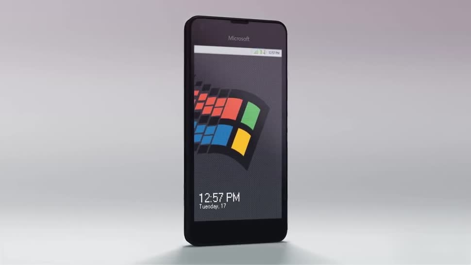 Windows Phone, Windows 10 Mobile, Konzept, Windows 95, Konzeptvideo, Windows 95 Mobile