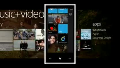 Windows Phone 7, Design, Interface, Ui, Windows Mobile 7, User Experience